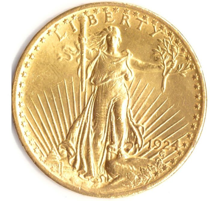 United States - 20 Dollar 1924 St Gaudens - 1 Oz - Gold