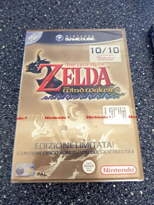 The Legend of Zelda The WindWaker ( New Sealed )