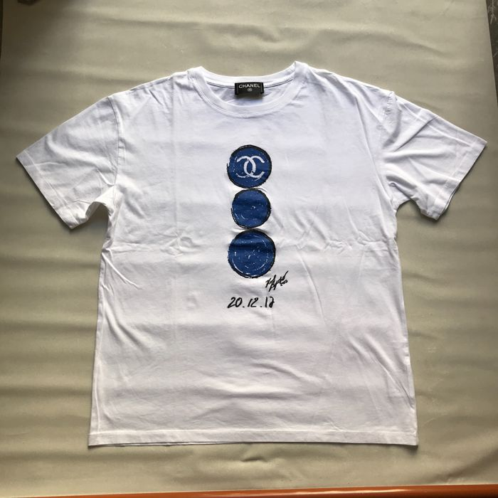 huge selection of a938f 788a5 Chanel - T-shirt limited edition Colette x Chanel - Catawiki