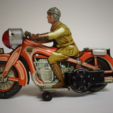 Arnold A 643 Motorrad, West Germany 1940-1950, wind-up