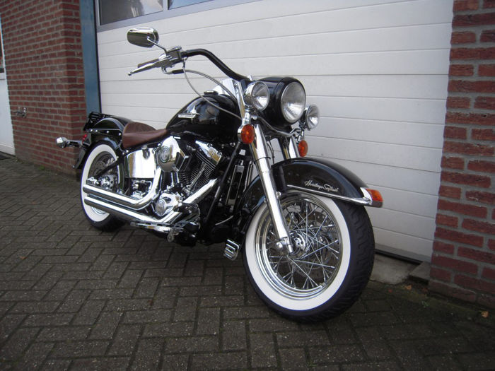 Harley Davidson Softail Deluxe >> Harley Davidson Heritage Softail Deluxe 1450 Cc 2002 Catawiki
