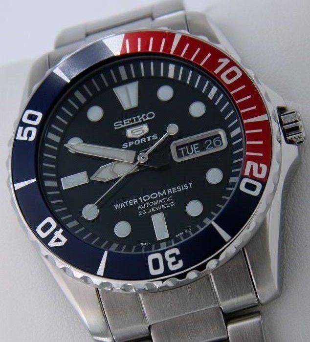 "Seiko - Automatic 23 Jewels ""Blue Dial"" - ""NO RESERVE PRICE"" - Men - 2019"