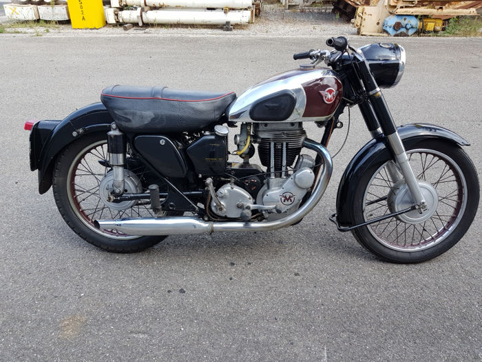 Matchless - G80 - 1955