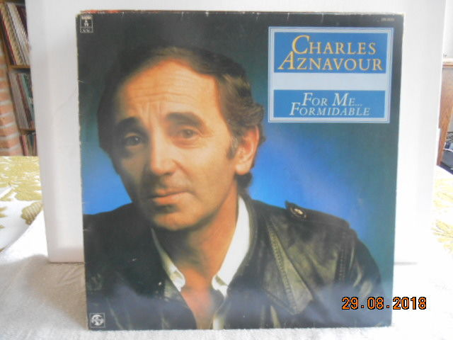 Charles Aznavour  ''lot of 19 albums  incl 1 double album''