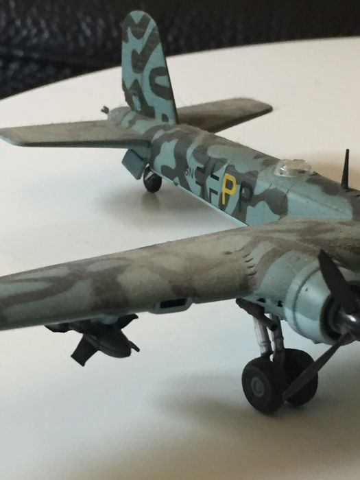 Lot of no  2 German bombers WW2 die-cast 1/72 - Catawiki