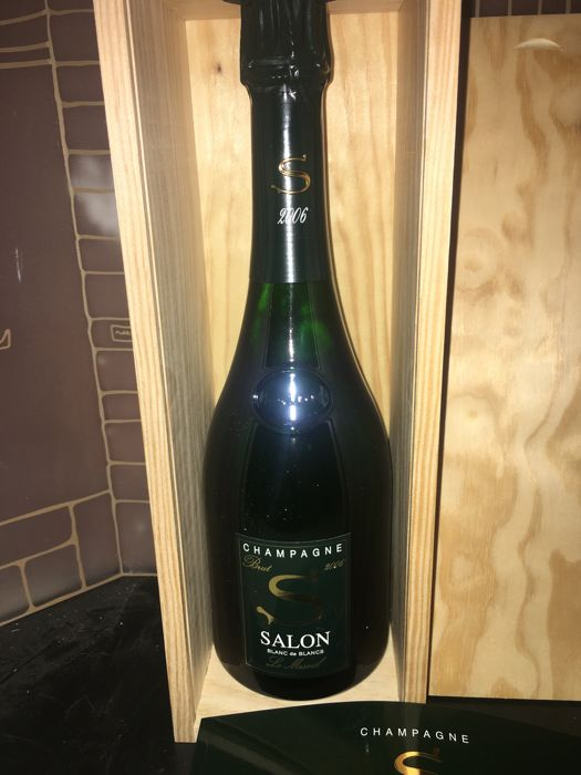 Champagne Salon Blanc de Blancs Brut 2006 - 1 bottle with original ...