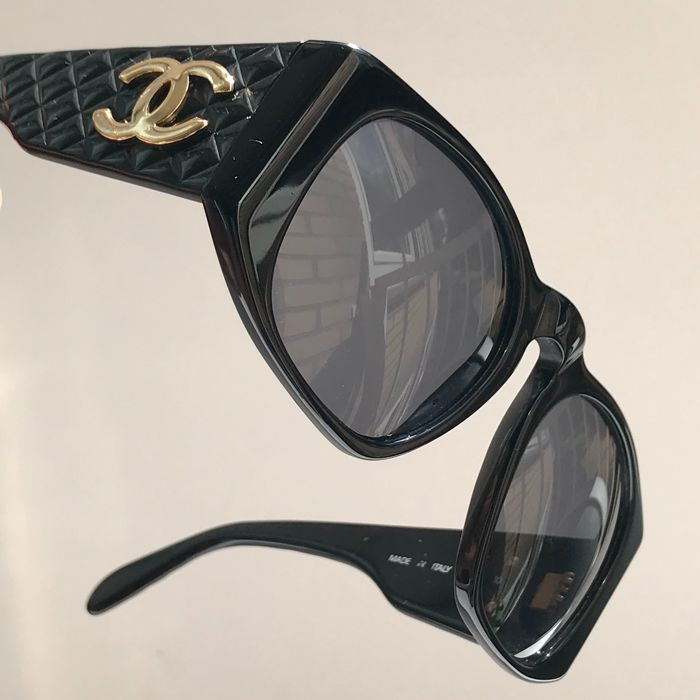 8169556ce90c3 Chanel - Quilted - Lady GaGa Sunglasses - Vintage - Catawiki