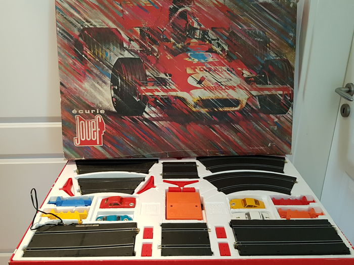 Jouef - 1:43 - Circuit Jouef Grand Prix virages releves - Box 2 Kreise 3060-3061