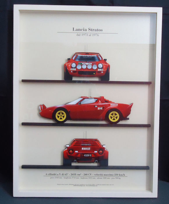 Decoratief object - Lancia Stratos - 2017-2017 (1 items)