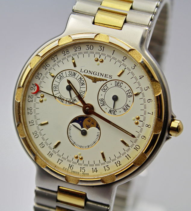 "Longines - Conquest Triple Date  ""NO RESERVE PRICE"" - 4010 - Heren - 2000-2010"