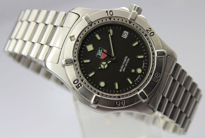 "TAG Heuer - 2000 Series Automatic - ""NO RESERVE PRICE"" - 669.206 - Heren - 1990-1999"