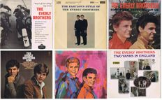 THE EVERLY BROTHERS - 6 original first pressings / LPs: 1958-1967