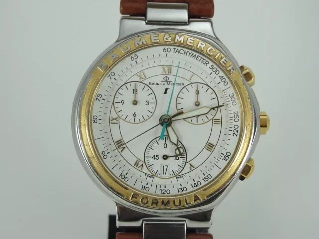 Baume & Mercier - Formula S - mv04fo11.2 - Heren - 1980-1989 - NO RESERVE PRICE-