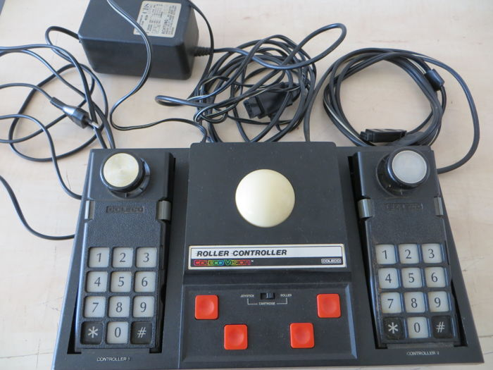 Classic roller controller coleco vision 1980