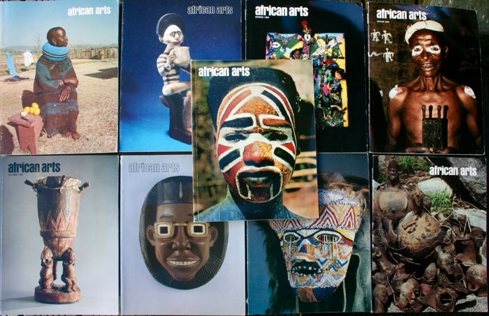 9 African Arts reviews from 1985 to 1996 - OE - English -
