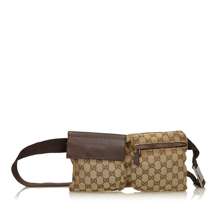 Gucci - Guccissima Canvas Belt Bag - Catawiki 6516bb7b409e
