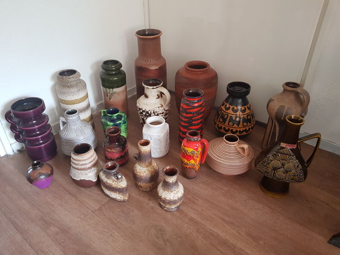 24 Vases West Germany Catawiki