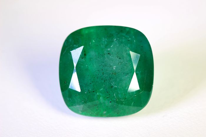 Emerald - 17.49 ct - Zambia