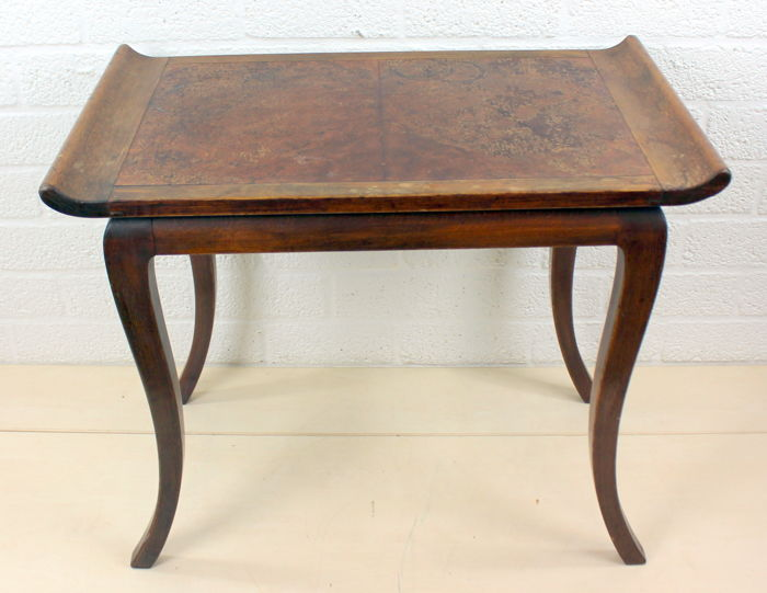 A wooden side table with curved top - France - 2nd half 1800