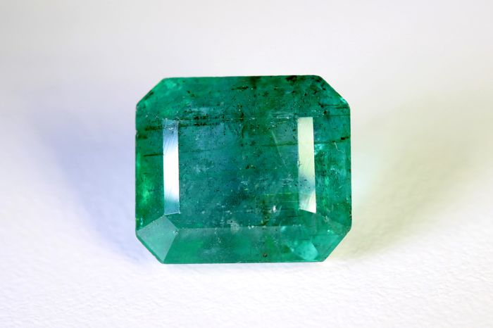 Emerald - 8.10 ct - Zambia