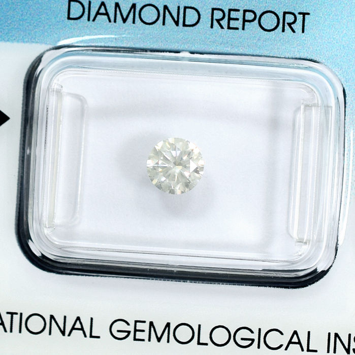 Diamond - 0.54 ct, K / Si2