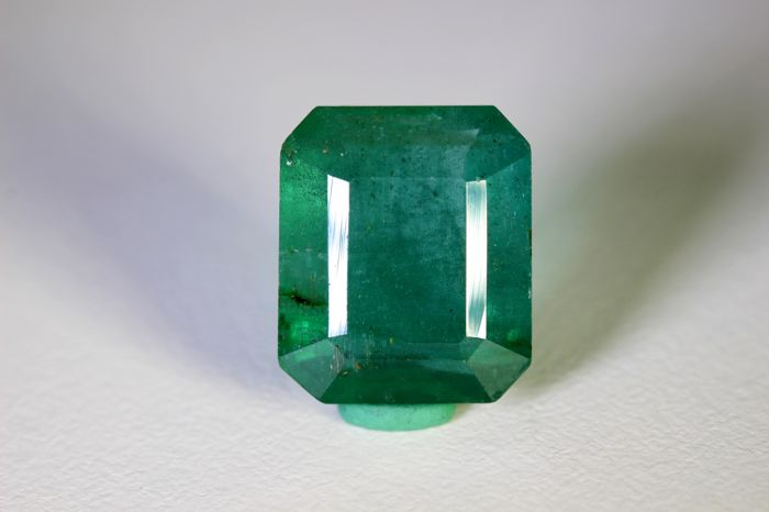 No Reserve Price  Smaragd - 8.13 ct