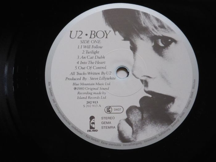 Set of 8 U2 albums, including double album Rattle and Hum ( 9 lp's total)  and Achtung Baby on yellow vinyl - Catawiki