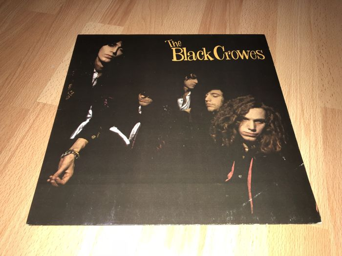 The Black Crowes ‎– Shake Your Money Maker LP 1990 Original First Pressing