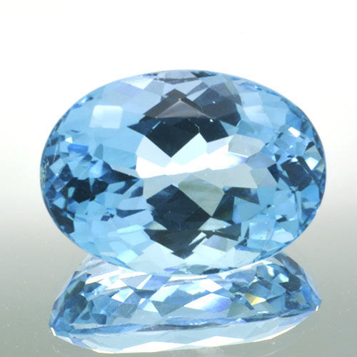 Swiss Blue Topaz - 12.65 ct