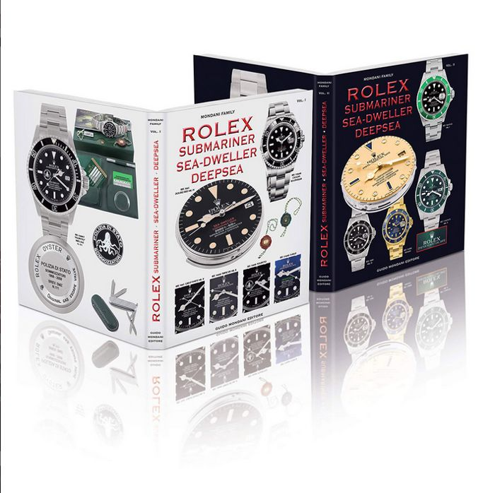 Rolex - Submariner Sea-Dweller DeepSea book by G Mondani  - Unisex - 2011-nå