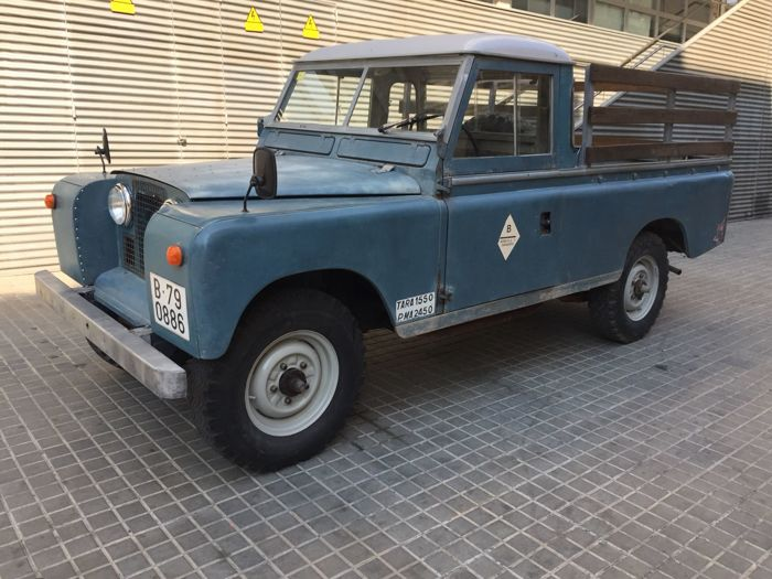 Land Rover - Serie  IIA Pick up  - 1970