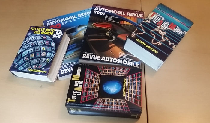 Boeken - Annuari Quattroruote e Automobile Revue - 1984-2001 (4 items)
