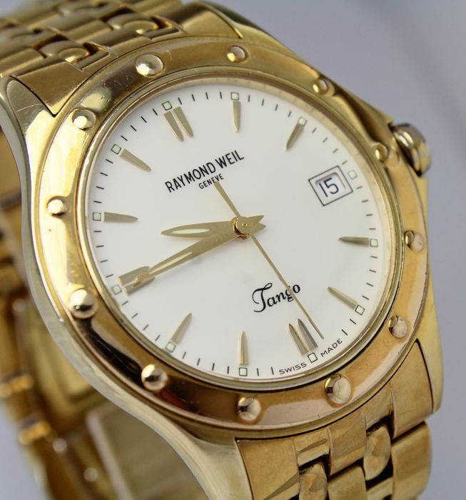 """Raymond Weil - Gold Plated """"No reserve price"""" - Tango 5590 - Heren - 2011-heden"""
