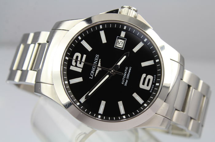 Longines - Conquest Automatic 300m WR - New In 2016 - Mint Condition - Box & Papers - Heren - 2011-heden