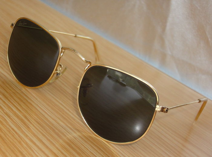 8d83271536 Ray-Ban - B&L W0978 Classic Metals Style 2 Arista Aviator Lunettes de soleil