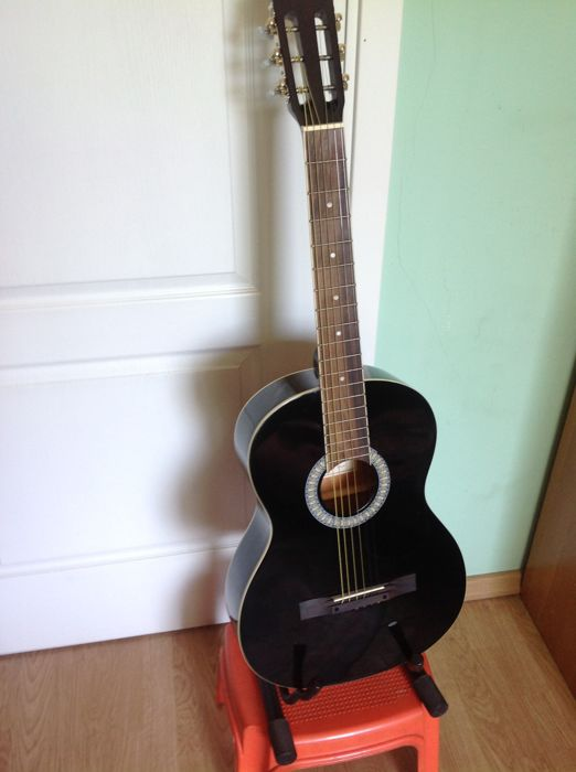 Durango MG-916 acoustic - made in Mexico - original, in black colour
