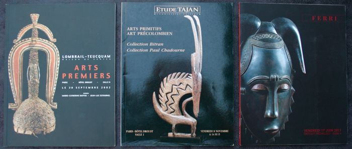 3 Drouot sales catalogues - OE - French