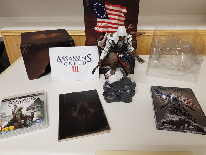 Assassins Creed 3: Freedom Edition with Connor Statue! (PS3 version)