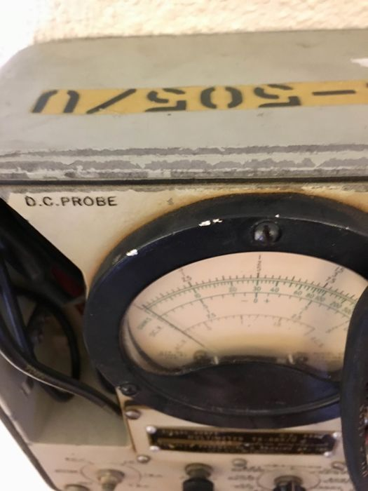 Military Multimeter - TS-505/U - U.S. Army. -Year 1961
