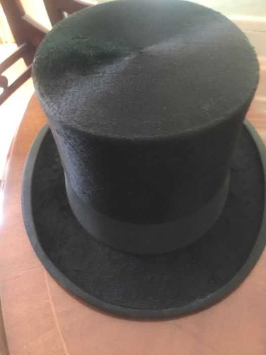 Jb De Vries Tall Hat Vintage Made By Famous Amsterdam Hat