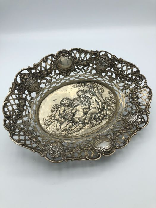 Silver bowl, Germany, circa 1905