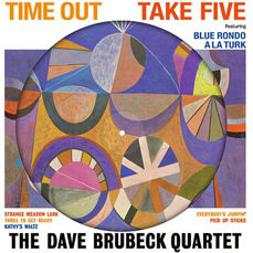 Lots off 4 Dave Brubeck Albums all on 180 Grams Vinyl, Time Out Picture Disc, Time Changes,  Time Further Out, Brubeck Time