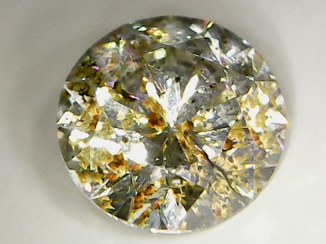 Diamond 0.72 ct, Brilliant Cut, Colour K, Clarity SI3