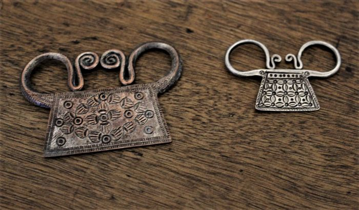 2 locks of Hmong-Laos-spirits from the 20th century