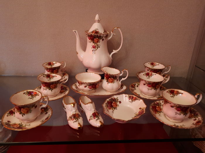 Royal Albert - Koffie/Thee servies Old Country Rose