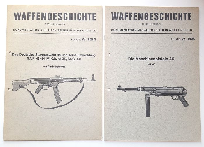 Van MP40 en Sturmgewehr tot Glock 17 Manual/Book