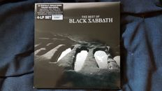 Limited and numbered edition The best of Black Sabbath in a 4 records edition Almost new., UK pressing from 2000.