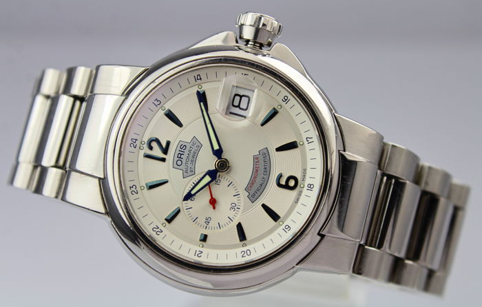 "Oris - Automatic 27 Jewels Chronometer  ""NO RESERVE PRICE""  - 7496,  Serial 19 11733 - Heren - 2000-2010"