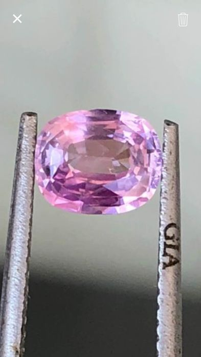 Pink sapphire 1.08 ct