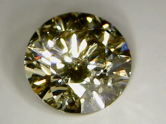 Diamante 0.50ct, Taglio Brillante, Colore Fancy Brown, Chiarezza SI1